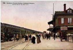 SOHS_Ashland_Southern_Pacific_Station_Postcard